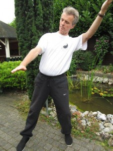 Wu Tai Chi Docent Peter Beurskens